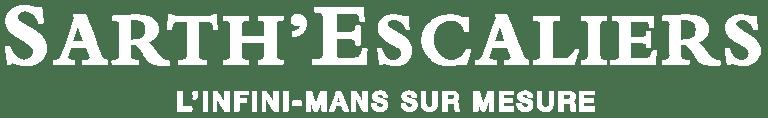Logo Sarth'Escaliers Blanc